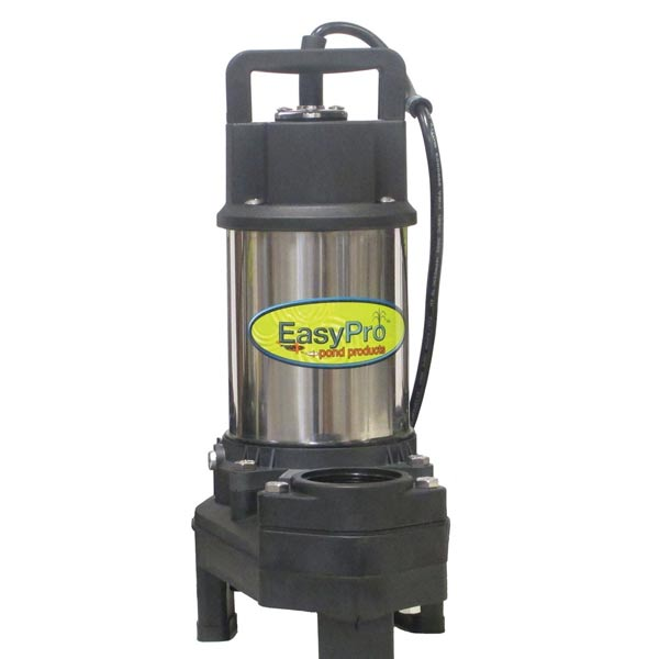 Easypro waterfall and stream pump 3100 gph for Best pond pump for small pond