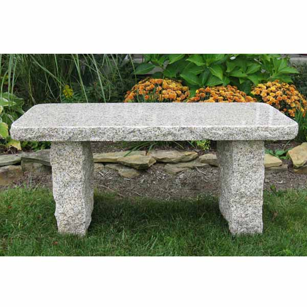 Outdoor Gold Granite Bench