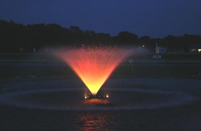 Kasco 5 3vfx 5hp aerating fountain for Kasco marine de icer motor