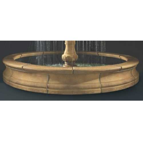 Outdoor Bracci Fountain Basin System 12 39 Or 16 39 Water Feature Pros