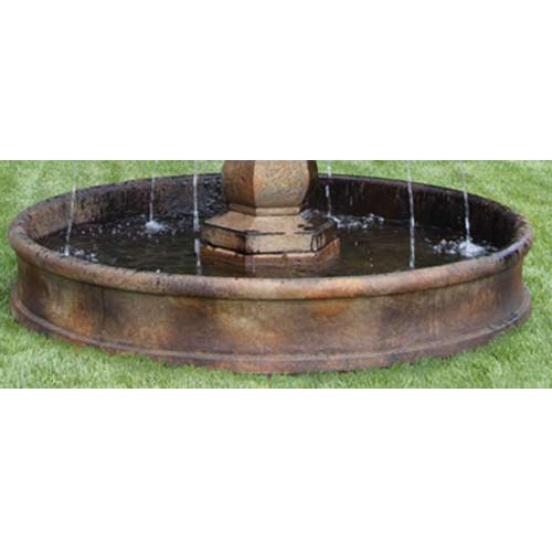 Outdoor 6 39 Fountain Basin System Water Feature Pros
