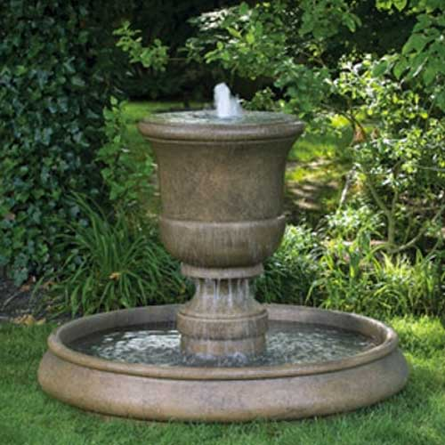 Outdoor Classic Fountain Basin Sytem 37 48 Or 55 Water Feature Pros