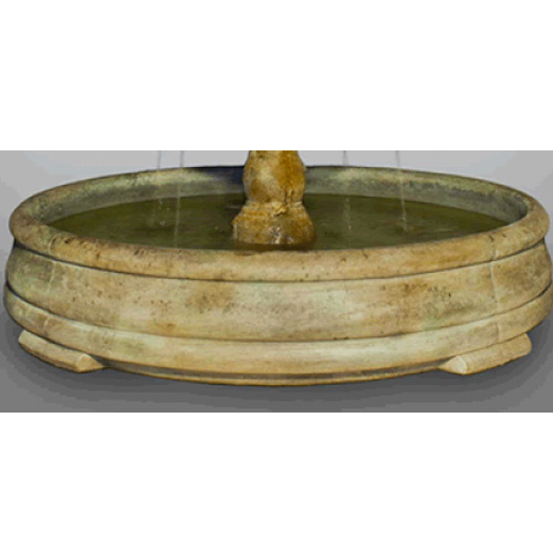 Outdoor Grando Fountain Basin System Water Feature Pros