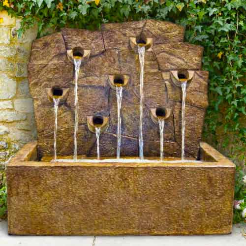 Large Outdoor Wall Fountains wall fountains archives - water feature pros