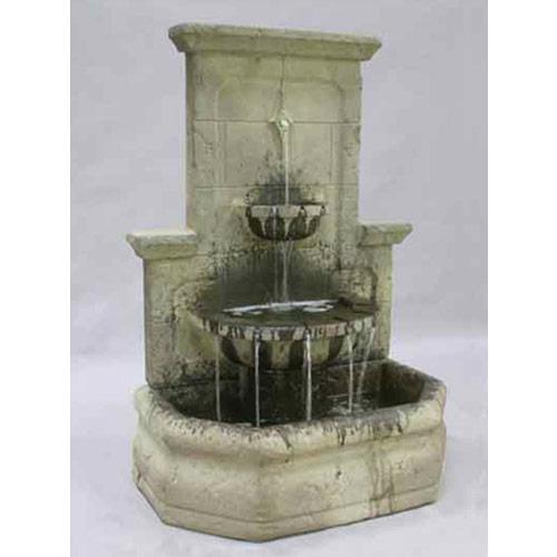 Als Garden Art Fiore Stone Water Feature Pros
