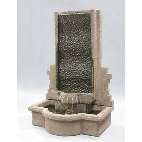 al 39 s garden art tranquility wall fountain lg136 fw water feature