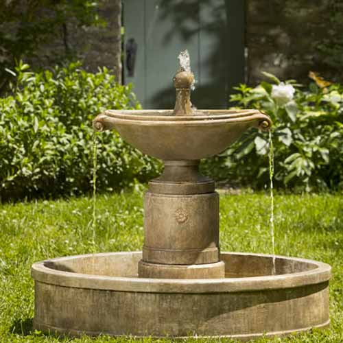 Campania Borghese In Basin Fountain Ft 224 Water Feature Pros
