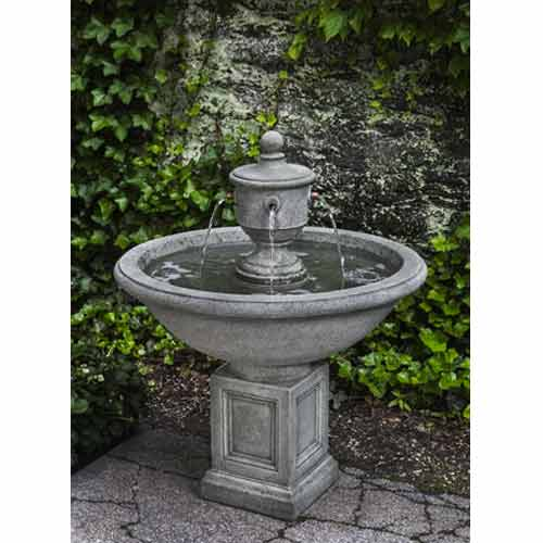 Outdoor 3 Tier Cavalli Garden Fountain With 16 39 Basin Water Feature Pros