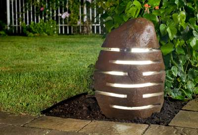 Twilight Boulder Lantern WFP-627 Stone Age Creations