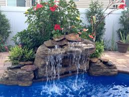 American Falls Do It Yourself Swimming Pool Waterfall Kit