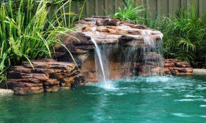 Faux Rock Waterfall 2