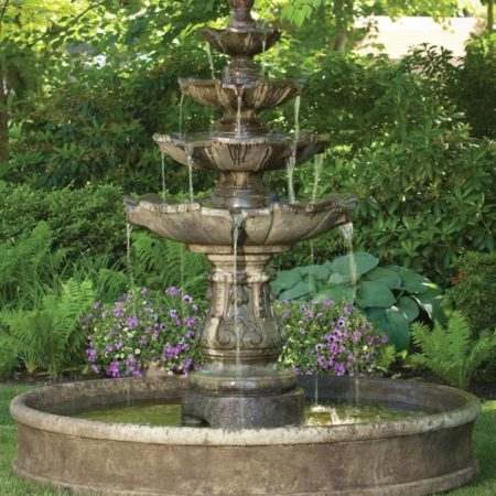 Massarelli_Classic_Four_Tier_Fountain_on_6′_pool_3673