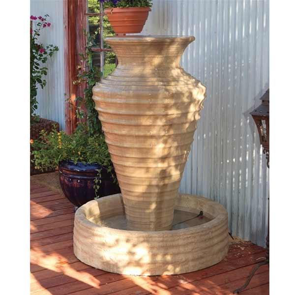 Sarasota Outdoor Kitchens: Sarasota Outdoor Garden Fountains-waterfalls Serving