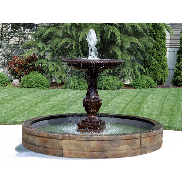 Outdoor One Tier Savona Fountain