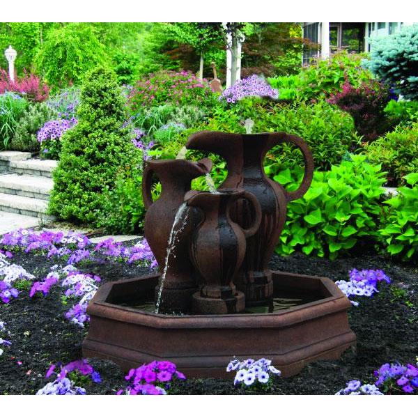 Marelli Roman Vases Octagonal Pool Fountain 3867 Free Shipping
