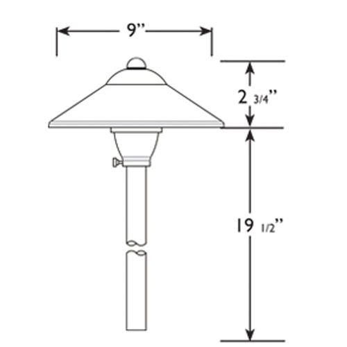 Landscape Lighting Diagram: Path-diagram-pros