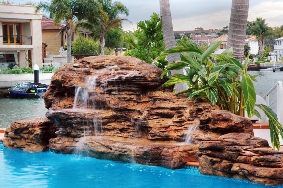 Tranquil Falls Swimming Pool Waterfall Kit Free Shipping
