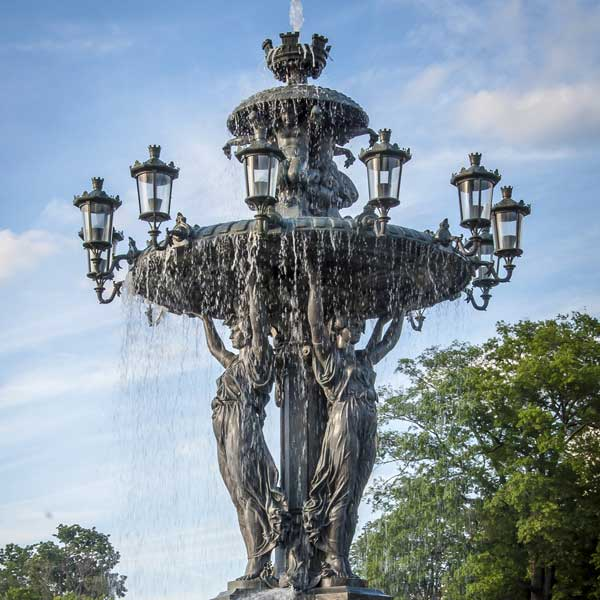 Cast Iron Outdoor Fountains