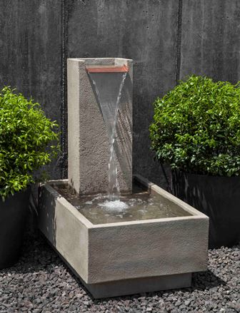 FT-288 Campania Falling Water IV Fountain