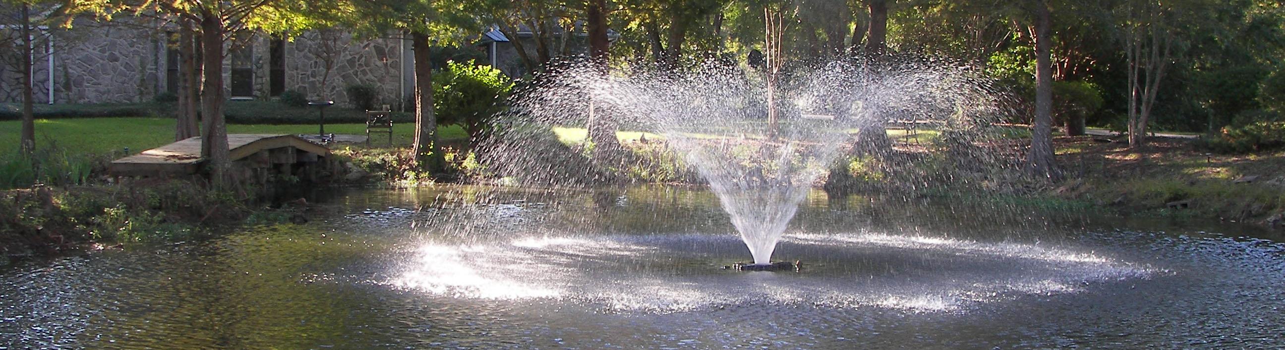 residential pond aeration