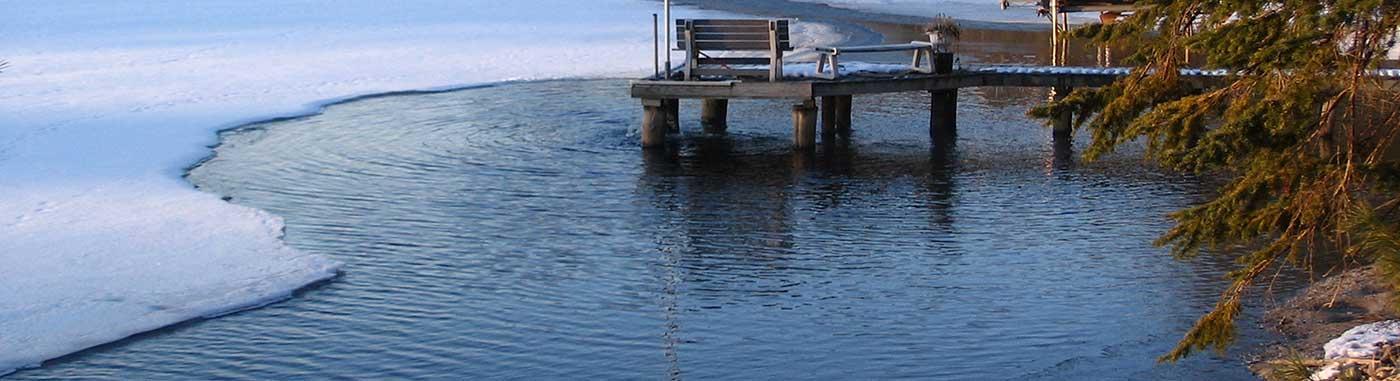 Lake Fountain De-Icer
