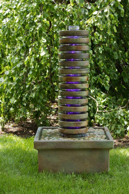 Round Luminaire Fountain
