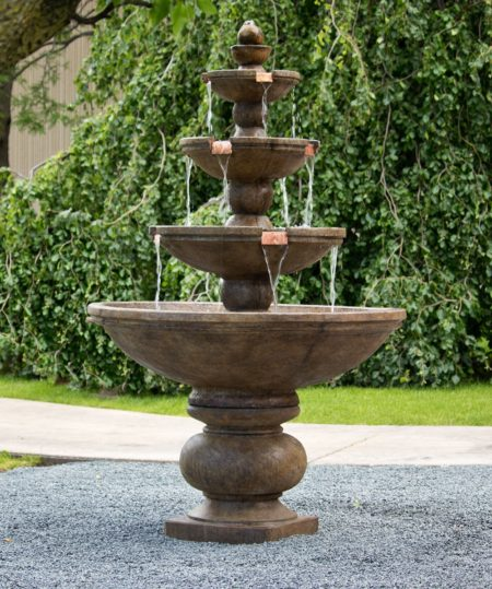 Buckingham Four-tier Fountain
