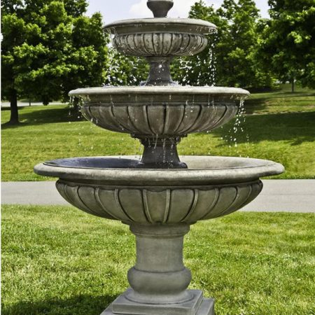 Campania Three Tier Longvue Fountain