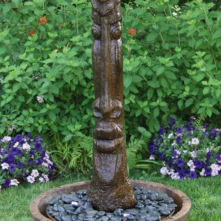 Tiki Post Fountain