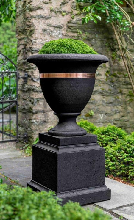 Classic Copper Banded Urn