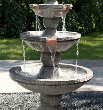 Buckingham Three-tier Fountain